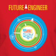Design ~ Women's Future Engineer Hoodie (Front and Back Design)
