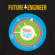 Design ~ Men's Future Engineer Hoodie (Front and Back Design)