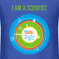Design ~ Men's I am a Scientist T- Shirt (Front and Back Design)