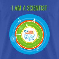 Design ~ Men's I am a Scientist T- Shirt (Front and Back Design)