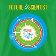Design ~ Men's Future Scientist T-Shirt (Front and Back Design)