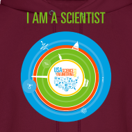 Design ~ Men's  I am a Scientist Hoodie  (Front and Back Design)