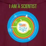 Design ~ Men's  I am a Scientist Hoodie  (Front and Back Design)