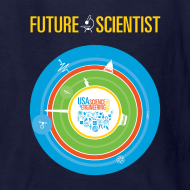 Design ~ Kid's Future Scientist T-Shirt (Front and Back Design)