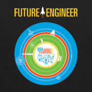 Design ~ Kid's Future Engineer Hoodie (Front and Back Design)
