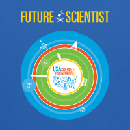 Design ~ Kid's Future Scientist Hoodie (Front and Back Design)