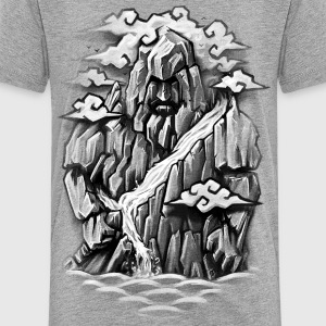 The Mountain Knight Kids' Shirts - Kids' Premium T-Shirt
