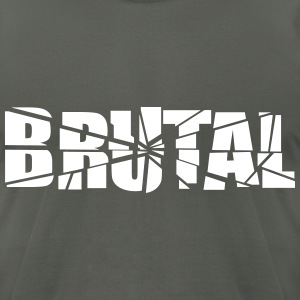 Brutal T-Shirts - Men's T-Shirt by American Apparel