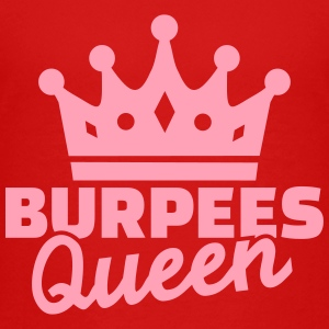Burpees Queen Kids' Shirts - Kids' Premium T-Shirt