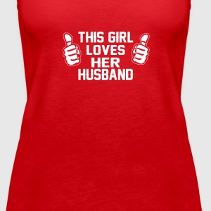 This Girl Loves Her Husband! - Women's Premium Tank Top