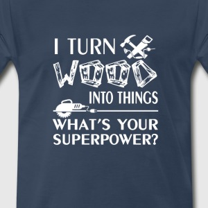 Woodworking - Men's Premium T-Shirt