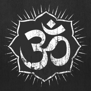 Vintage Om Symbol T-Shirt Bags & backpacks - Tote Bag