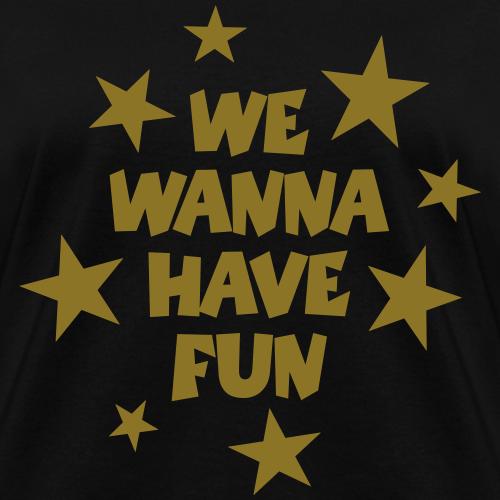 We Wanna Have Fun Stars (Gold)