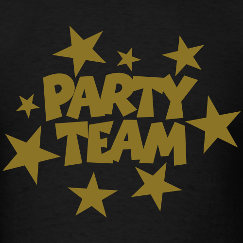 Party Team Stars Gold