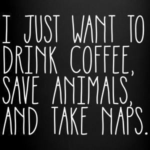 Coffee Animals & Naps - Full Color Mug