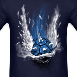 Blue Shell Attack T-Shirts - Men's T-Shirt