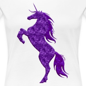 Purple Unicorn Shirt - Women's Premium T-Shirt