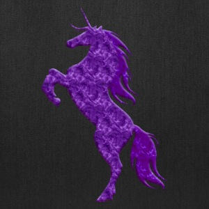Purple Unicorn Tote Bag - Tote Bag