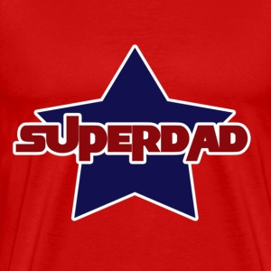superdad for fathers day - Men's Premium T-Shirt