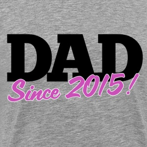 new DAD to be for fathers day - Men's Premium T-Shirt