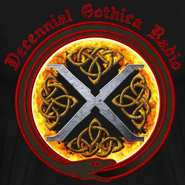 Decennial Gothica Radio Logo