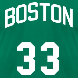 Boston Bird Jersey T-Shirts - Men's T-Shirt by American Apparel