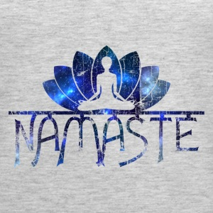 Namaste Vintage Galaxy Cool Slogan T-Shirt Tanks - Women's Premium Tank Top