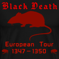Design ~ Double-sided BLACK DEATH Tour Shirt