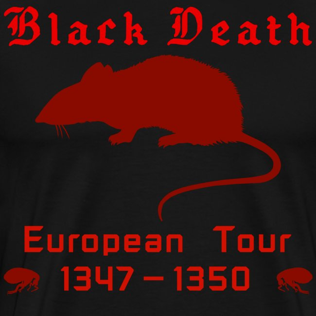 Double-sided BLACK DEATH Tour Shirt