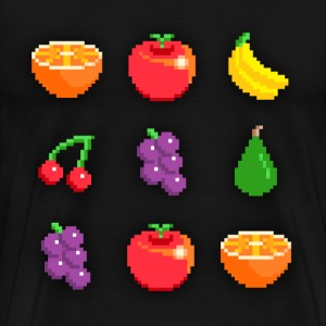 Pixel Fruit - Men's Premium T-Shirt