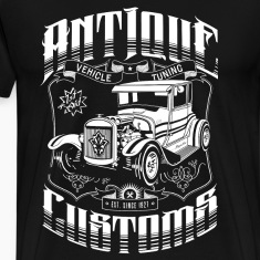 Hot Rod - Antique Customs T-Shirts