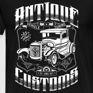 Hot Rod - Antique Customs T-Shirts - Men's Premium T-Shirt