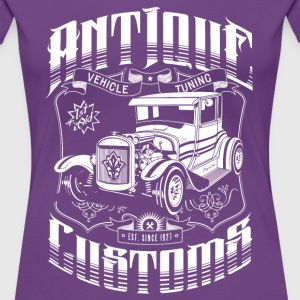 Hot Rod - Antique Customs Women's T-Shirts - Women's Premium T-Shirt