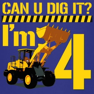 Can You Dig It? I'm 4 - Kids' Premium T-Shirt