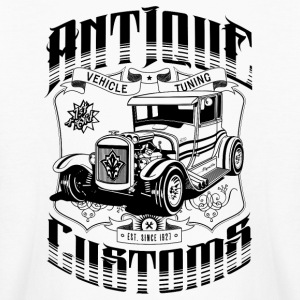 Hot Rod - Antique Customs Kids' Shirts - Kids' Long Sleeve T-Shirt