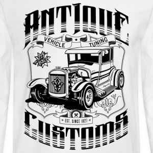 Hot Rod - Antique Customs Long Sleeve Shirts - Men's Long Sleeve T-Shirt