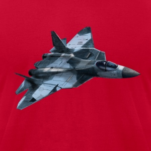 Fighter Sukhoi T-Shirts - Men's T-Shirt by American Apparel