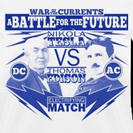 Design ~ Tesla Vs Edison shirt