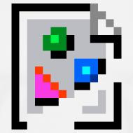Design ~ Broken Graphic / Missing Image Tee