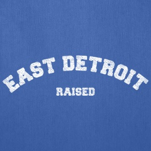 East Detroit Raised Michigan Bags & backpacks - Tote Bag