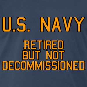 US Navy - Retired T-Shirts - Men's Premium T-Shirt