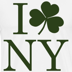 I Shamrock NY New York T-Shirts - Men's Premium T-Shirt