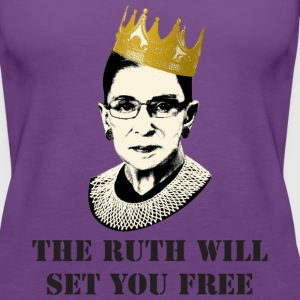 ruth will set you free Tanks - Women's Premium Tank Top