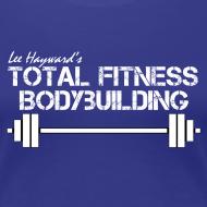 Design ~ Women's Total Fitness Bodybuilding Barbell T-Shirt