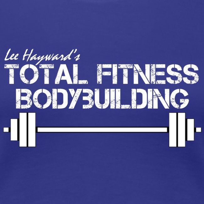 Women's Total Fitness Bodybuilding Barbell T-Shirt