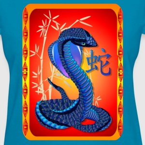 Year Of The Snake-and Chinese Letter - Women's T-Shirt