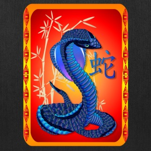 Year Of The Snake-and Chinese Letter - Tote Bag