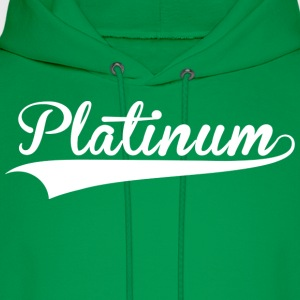 Platinum Green Arrow - Men's Hoodie
