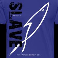 Design ~ SLAVE (Multicolor on blue) Version 2