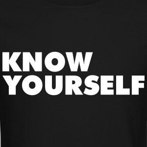 Know Yourself Long Sleeve Shirts - Crewneck Sweatshirt